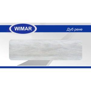 Плинтус пластиковый Вимар (Wimar), напольный, с кабель каналом, 68x22x2500 мм. Дуб рене, 68мм. / шт.