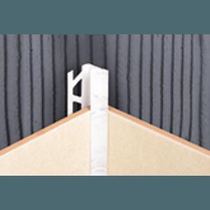 Пластиковая раскладка для плитки внутренняя и наружная Идеал Ideal 103 Мрамор алебастровый ПВХ