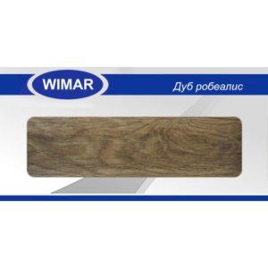 Плинтус пластиковый Вимар (Wimar), напольный, с кабель каналом, 68x22x2500 мм. Дуб обыкновенный, 68мм. / шт.