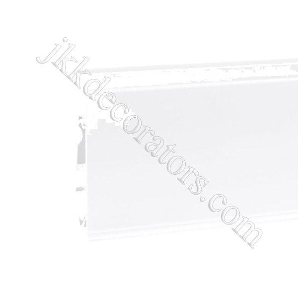 Плинтус пластиковый Korner EVO-70 с кабель-каналом, Industrial Collection, 70x20.7x2500 мм. Белый 25-70-0-001 / шт.