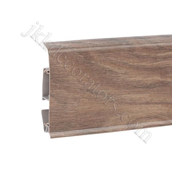 Плинтус пластиковый Korner EVO-70 с кабель-каналом, Modern Collection, 70x20.7x2500 мм. Сандаловое дерево 25-70-0-004 / шт.