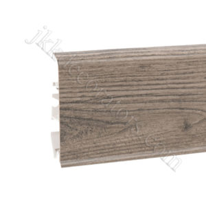 Плинтус пластиковый Korner EVO-70 с кабель-каналом, Modern Collection, 70x20.7x2500 мм. Скалистый дуб 25-70-0-005 / шт.