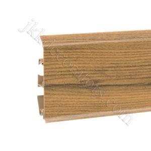 Плинтус пластиковый Korner EVO-70 с кабель-каналом, Natural Collection, 70x20.7x2500 мм. Орех Blues 25-70-0-008 / шт.