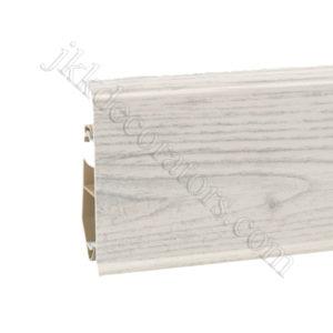 Плинтус пластиковый Korner EVO-70 с кабель-каналом, Modern Collection, 70x20.7x2500 мм. Дуб Chillout 25-70-0-011 / шт.