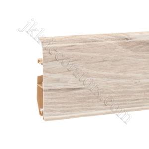 Плинтус пластиковый Korner EVO-70 с кабель-каналом, Modern Collection, 70x20.7x2500 мм. Дуб Husky 25-70-0-014 / шт.