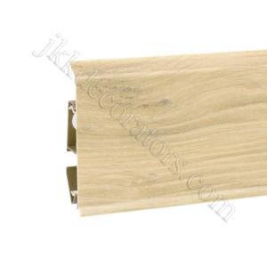 Плинтус пластиковый Korner EVO-70 с кабель-каналом, Natural Collection, 70x20.7x2500 мм. Орех Модерн 25-70-0-015 / шт.