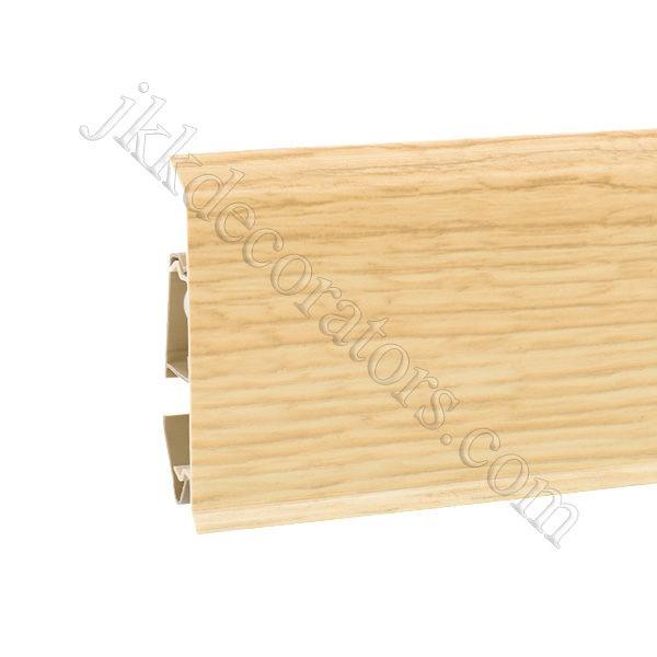 Плинтус пластиковый Korner EVO-70 с кабель-каналом, Natural Collection, 70x20.7x2500 мм. Дуб Soul 25-70-0-019 / шт.