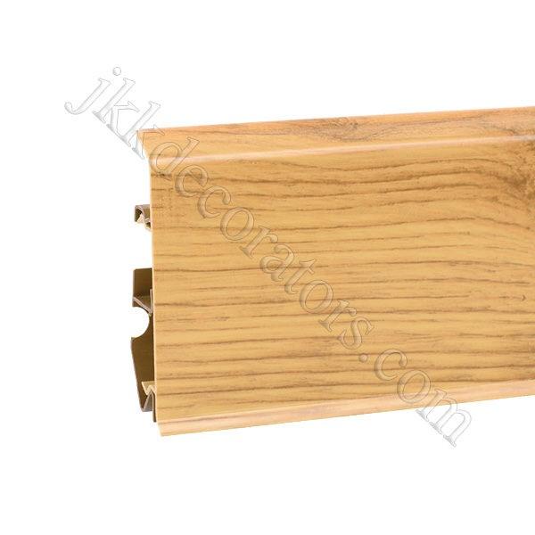 Плинтус пластиковый Korner EVO-70 с кабель-каналом, Natural Collection, 70x20.7x2500 мм. Рустикальный дуб 25-70-0-021 / шт.