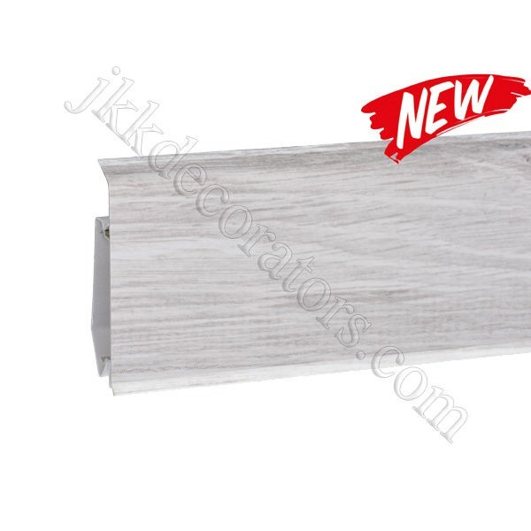 Плинтус пластиковый Korner EVO-70 с кабель-каналом, Modern Collection, 70x20.7x2500 мм. Дуб Нике 25-71-0-025E / шт.