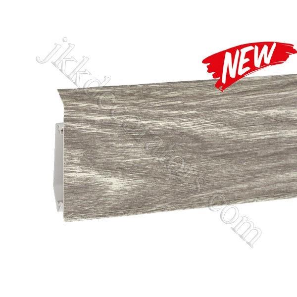 Плинтус пластиковый Korner EVO-70 с кабель-каналом, Modern Collection, 70x20.7x2500 мм. Дуб Болдер 25-71-0-026E / шт.