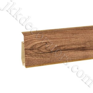 Плинтус пластиковый Korner EVO-70 с кабель-каналом, Modern Collection, 70x20.7x2500 мм. Дуб замковый 25-71-0-029Е / шт.