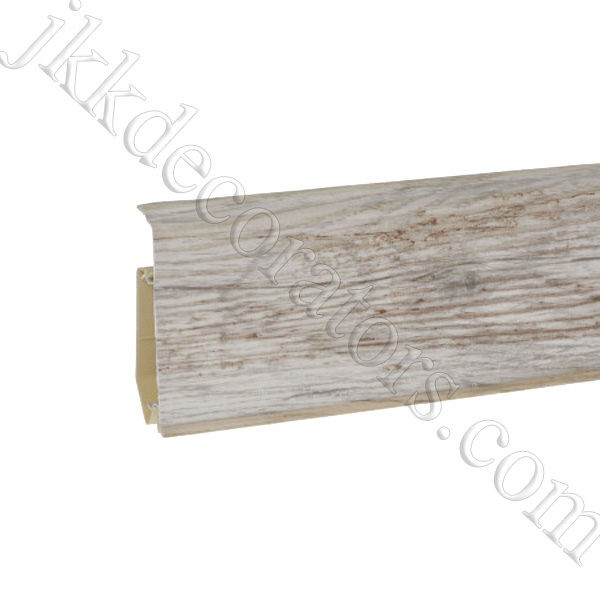 Плинтус пластиковый Korner EVO-70 с кабель-каналом, Modern Collection, 70x20.7x2500 мм. Фреско 25-71-0-030Е / шт.