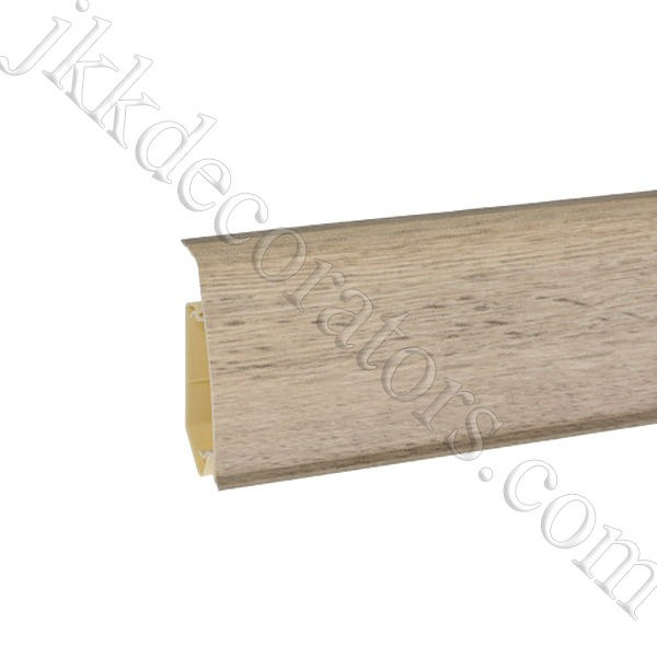 Плинтус пластиковый Korner EVO-70 с кабель-каналом, Modern Collection, 70x20.7x2500 мм. Наварра 25-71-0-031Е / шт.