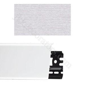 Плинтус напольный пластиковый Идеал Система 80x22x2200, с кабель-каналом, 265 Клен патина / шт.