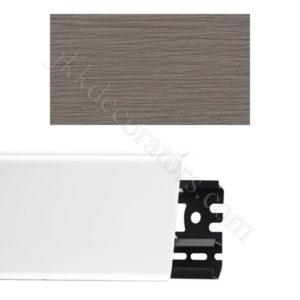 Плинтус напольный пластиковый Идеал Система 80x22x2200, с кабель-каналом, 275 Сосна оливье / шт.