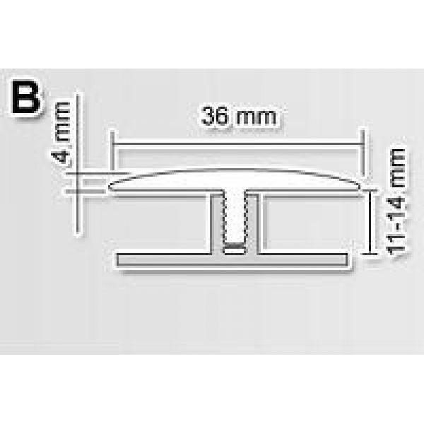 База B 11-14мм к профилю Polmar 3м / шт.