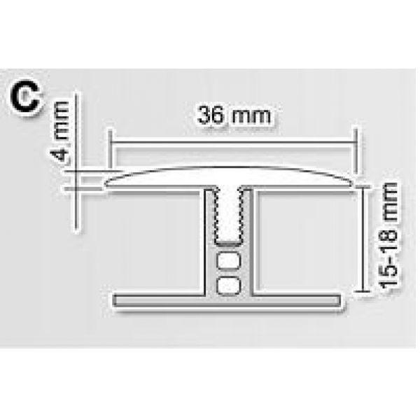База С 15-18мм к профилю Polmar 3м / шт.