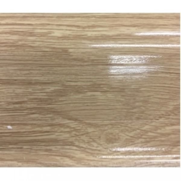 Плинтус пластиковый Ideal, Идеал-Комфорт напольный, 2500 х 55 мм. Глянцевый Дуб сафари 216 / шт.
