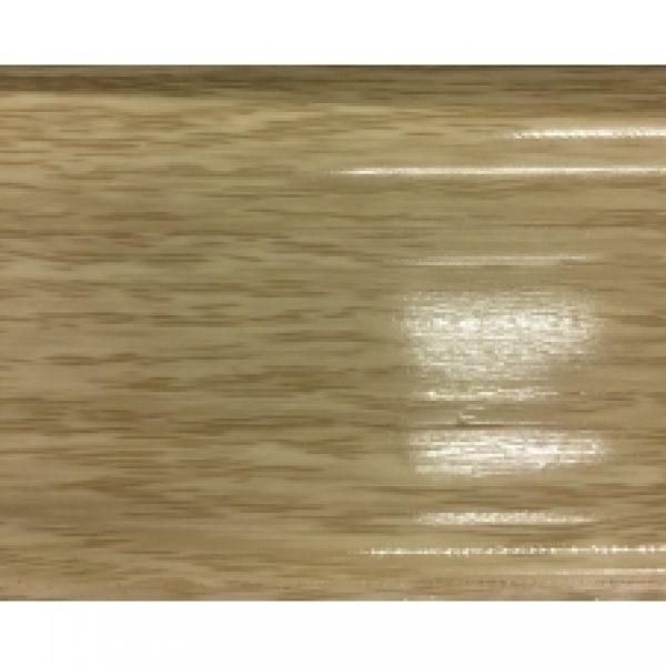 Плинтус пластиковый Ideal, Идеал-Комфорт напольный, 2500 х 55 мм. Глянцевый Дуб северный 213 / шт.
