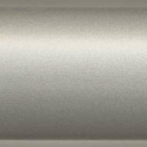 Плинтус пластиковый Dollken напольный 63x26x2500 мм. MD-63 Алю Металлик / шт.
