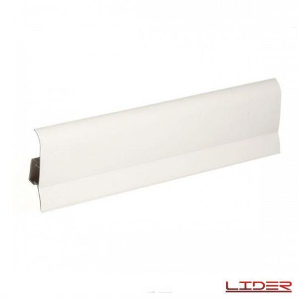 Плинтус напольный пластиковый 75x23x2500 мм. Лидер 75, Дуб белый 700 / шт.