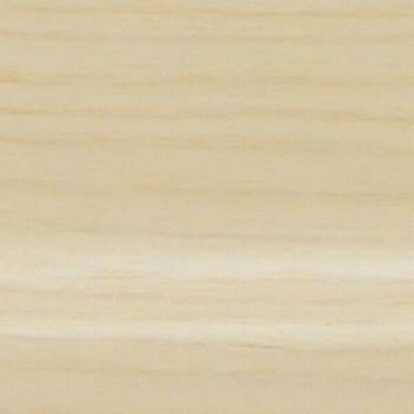 Плинтус Шпонированный Pedross 2500х80х18 Ясень беленый / шт.