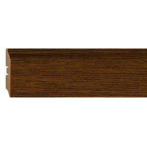 Плинтус МДФ Smartprofile 3D wood (82 мм) Шоко