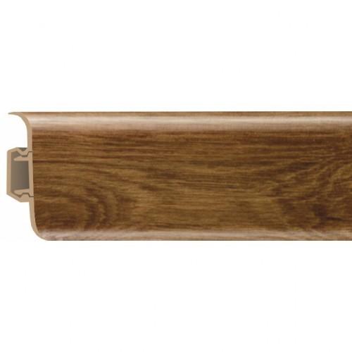 Плинтус ПВХ Rico (52 мм) Дуб Тайский 87