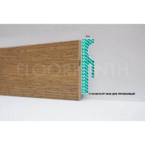Плинтус МДФ Floorplinth 80x16x2070 FP 0046 Дуб Пробковый / шт.