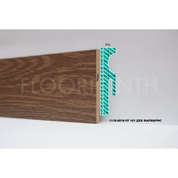 Плинтус МДФ Floorplinth 80x16x2070 FP 101 Дуб Мармарис / шт.