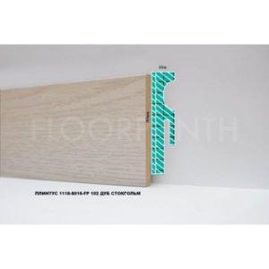 Плинтус МДФ Floorplinth 80x16x2070 FP 102 Дуб Стокгольм / шт.