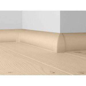 Плинтус пластиковый Dollken напольный 63x26x2500 мм. MD-63 Светло-серый / шт.