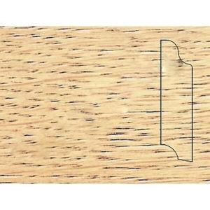 Плинтус Pedross массивный различной длины Дуб Рустик без покрытия 70x18x(1800-3200) мм