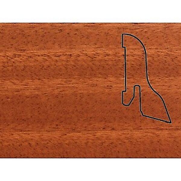 Плинтус Шпонированный Pedross 40x22x2500 Махагон / шт.
