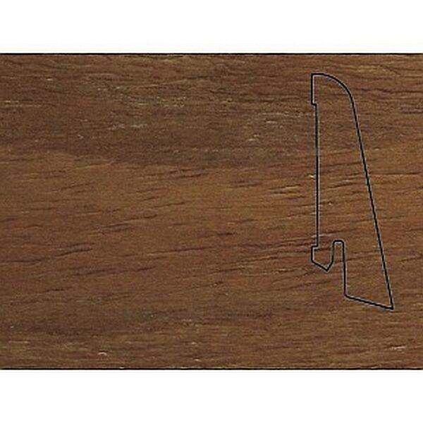 Плинтус Шпонированный Pedross 2500х58х20 Бук коричневый / шт.