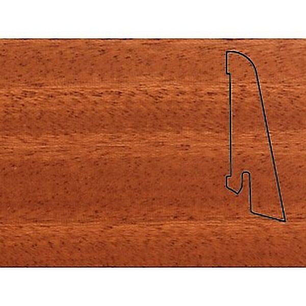 Плинтус Шпонированный Pedross 2500х58х20 Махагон / шт.