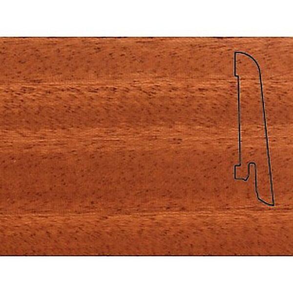 Плинтус Шпонированный Pedross 60x15x2500 Махагон / шт.