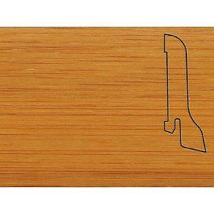 Плинтус Шпонированный Pedross 2500х60х22 Бамбук темный / шт.