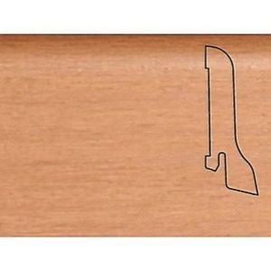 Плинтус Шпонированный Pedross 2500х60х22 Бук-махагон / шт.