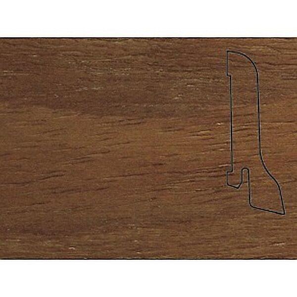 Плинтус Шпонированный Pedross 2500х60х22 Бук коричневый / шт.