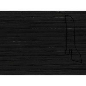 Плинтус Шпонированный Pedross 2500х60х22 Дуб черный / шт.