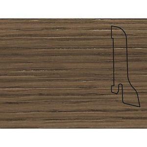 Плинтус Шпонированный Pedross 2500х60х22 Дуб коричневый / шт.