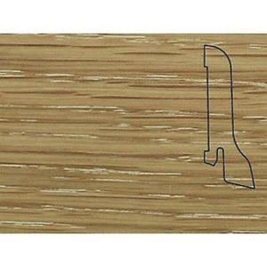 Плинтус Шпонированный Pedross 2500х60х22 Дуб затертый / шт.