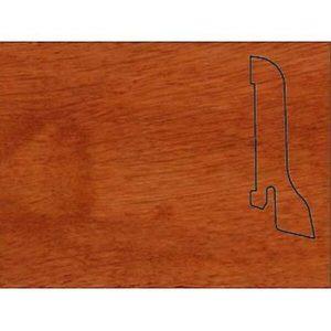 Плинтус Шпонированный Pedross 2500х60х22 розовое дерево / шт.