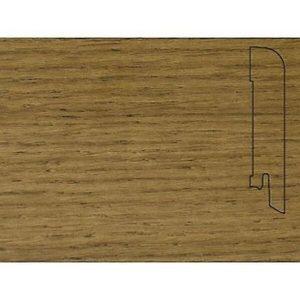 Плинтус Шпонированный Pedross 2500х70х15 Дуб коричневый / шт.