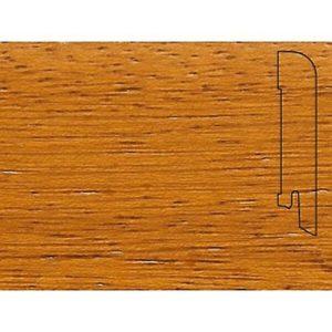 Плинтус Шпонированный Pedross 2500х70х15 Ироко / шт.