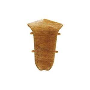 Внутренний угол на плинтус пластиковый Идеал O55-В