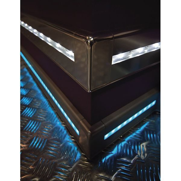 Соединение PKGIN 80, для плинтуса с подсветкой PROSKIRTING LED, Progress profiles