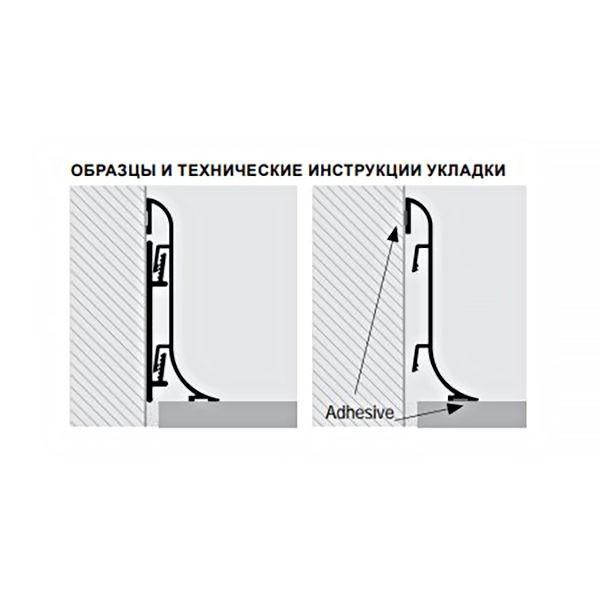 Соединение GIPKSHAA 70, для плинтуса PROSKIRTING SHELL, Progress profiles