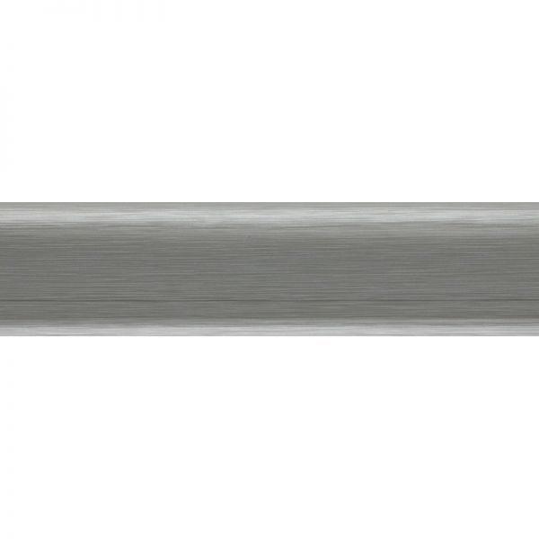 Плинтус пластиковый Salag (Салаг) напольный, NFG62 62х15x2500 мм. G3 aлюминий / шт.